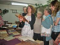 Открытие клуба любителей книги «Раритет»